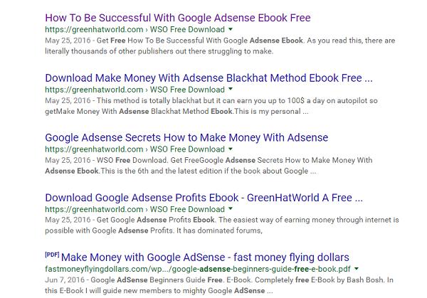 E-Book Google AdSense Percuma